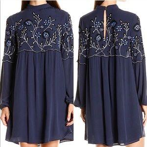 Parker Sadie Embroidered Dress